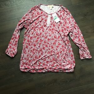 Micheal Kors Top Size Large